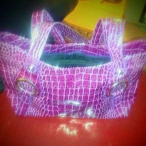 Handbags - Leather Crocodile Purse